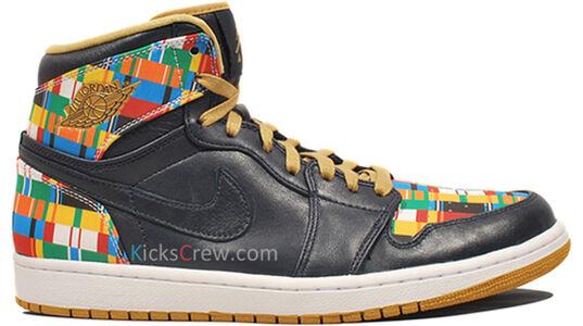 Air Jordan 1 Retro High World Basketball Festival - Obsidian 籃球鞋/運動鞋 (539542-435) 海外預訂