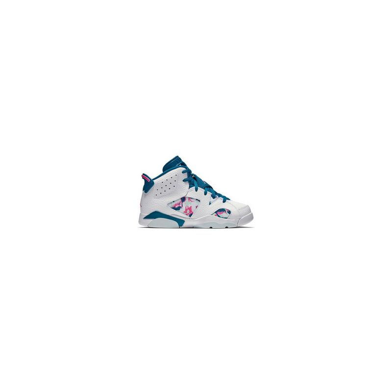 Air Jordan 6 Retro PS 'Green Abyss' White/Green Abyss-Laser Fuchsia 籃球鞋/運動鞋 (543389-153) 海外預訂