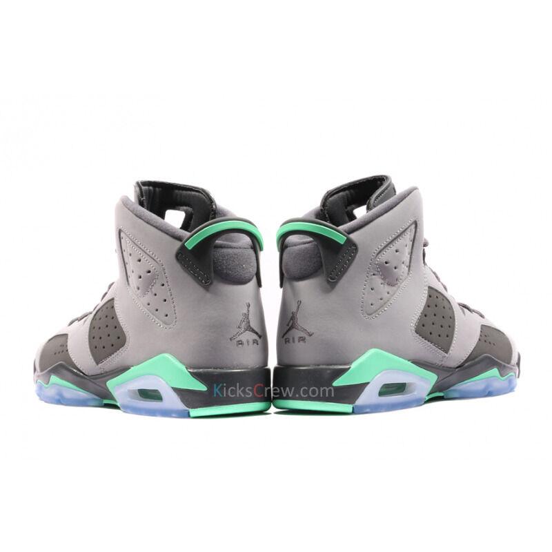 Air Jordan 6 Retro GG Cement Grey Green Glow 籃球鞋/運動鞋 (543390-005) 海外預訂