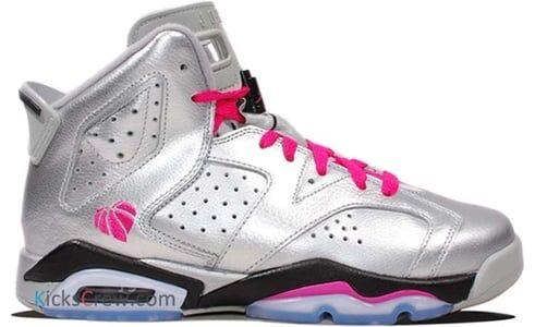 Air Jordan 6 Retro GG Valentines Day 籃球鞋/運動鞋 (543390-009) 海外預訂
