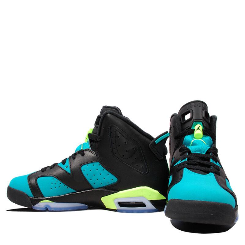 Air Jordan 6 Retro GG Black Turbo Green 籃球鞋/運動鞋 (543390-043) 海外預訂