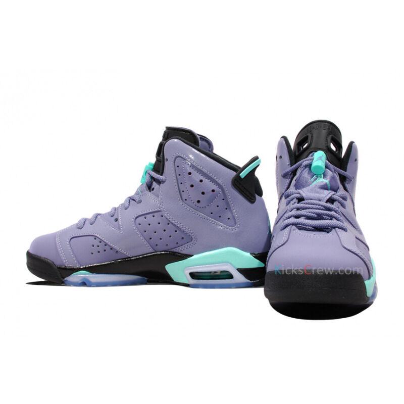 Air Jordan 6 Retro GG Iron Purple Turquoise 籃球鞋/運動鞋 (543390-508) 海外預訂