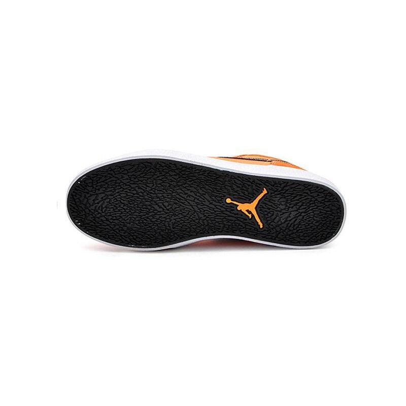 Air Jordan V1 Retro Mens Black Orange 運動鞋 (552312-801) 海外預訂