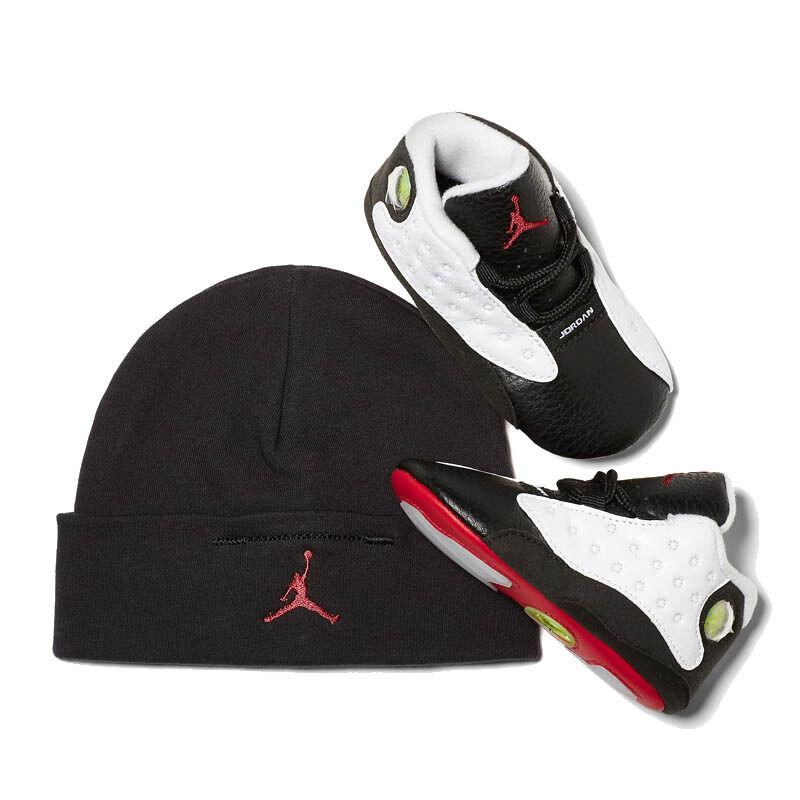 Jordan 13 Retro TD White Black 籃球鞋/運動鞋 (552664-104) 海外預訂