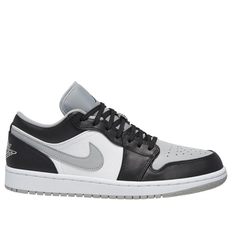 Air Jordan 1 Low 'Smoke Grey' Black/Black/Light Smoke Grey/White 籃球鞋/運動鞋 (553558-039) 海外預訂