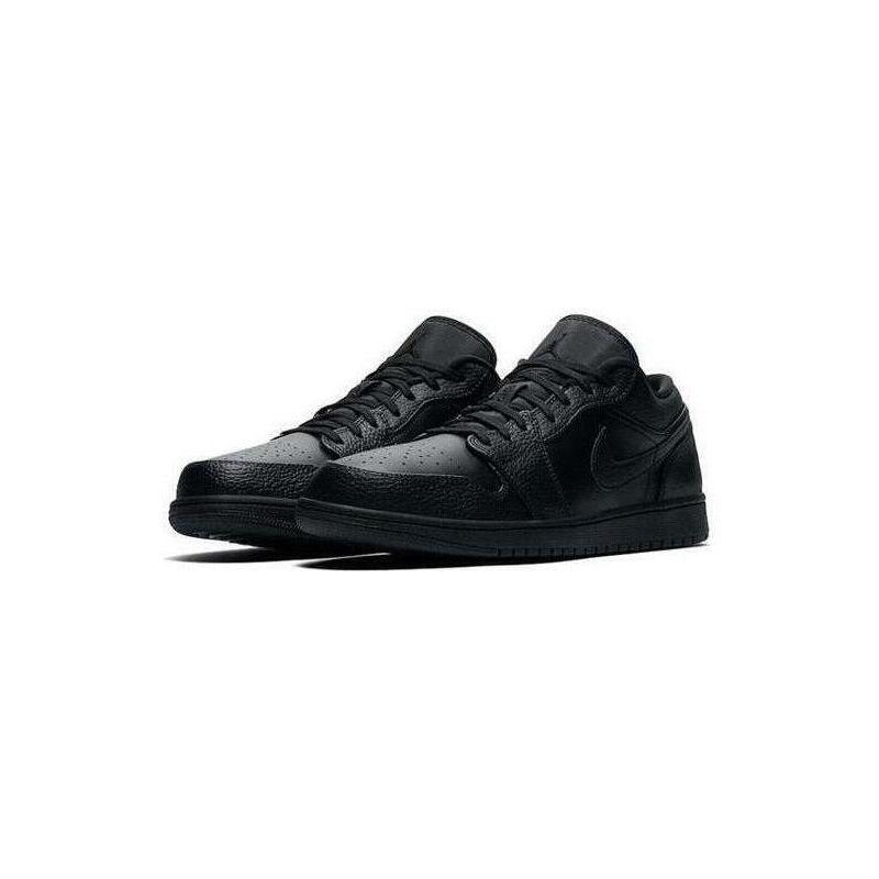 Air Jordan 1 Low 'Triple Black' Black/Black/Black 籃球鞋/運動鞋 (553558-091) 海外預訂
