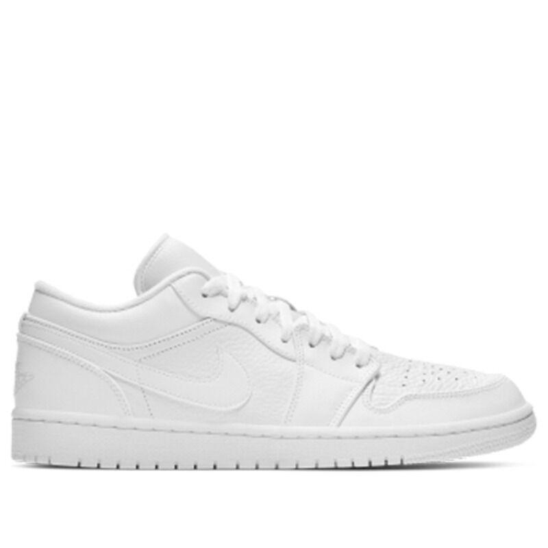 Air Jordan 1 Low White 籃球鞋/運動鞋 (553558-111) 海外預訂