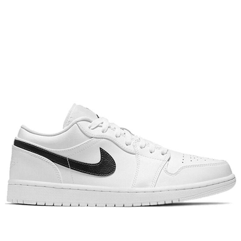 Air Jordan 1 Low White Obsidian 籃球鞋/運動鞋 (553558-114) 海外預訂