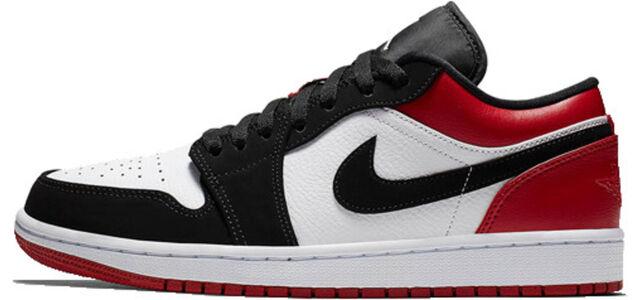 Air Jordan 1 Low Black Toe 籃球鞋/運動鞋 (553558-116) 海外預訂