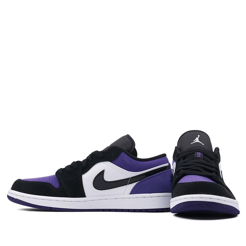 Air Jordan 1 Low Court Purple 籃球鞋/運動鞋 (553558-125) 海外預訂