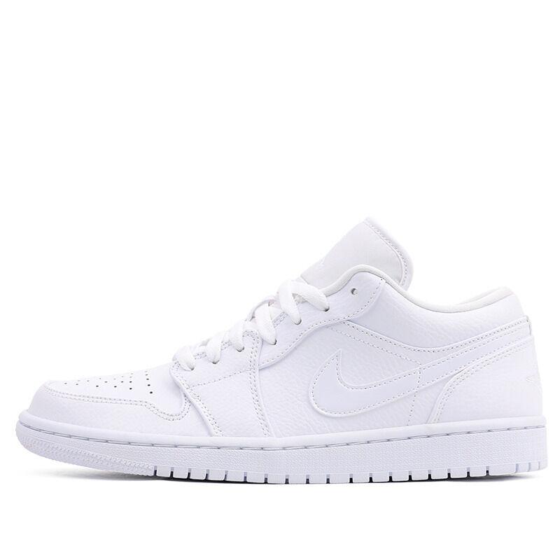 Air Jordan 1 Low Triple White 籃球鞋/運動鞋 (553558-126) 海外預訂