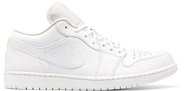 Air Jordan 1 Low Triple White 籃球鞋/運動鞋 (553558-130) 海外預訂