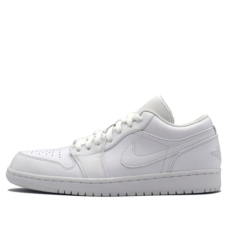 Air Jordan 1 Low White Pure Platinum 籃球鞋/運動鞋 (553558-170) 海外預訂