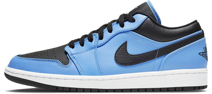 Air Jordan 1 Low University Blue Black 籃球鞋/運動鞋 (553558-403) 海外預訂