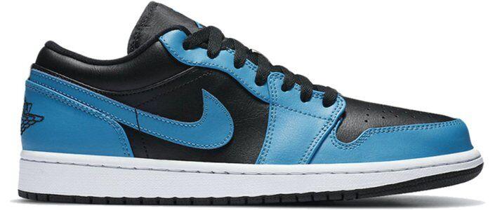 Air Jordan 1 Low 'Laser Blue' Laser Blue/Black/White 籃球鞋/運動鞋 (553558-410) 海外預訂