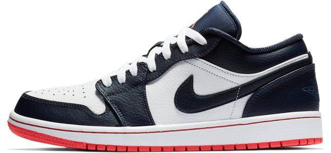 Air Jordan 1 Low Obsidian Ember Glow 籃球鞋/運動鞋 (553558-481) 海外預訂