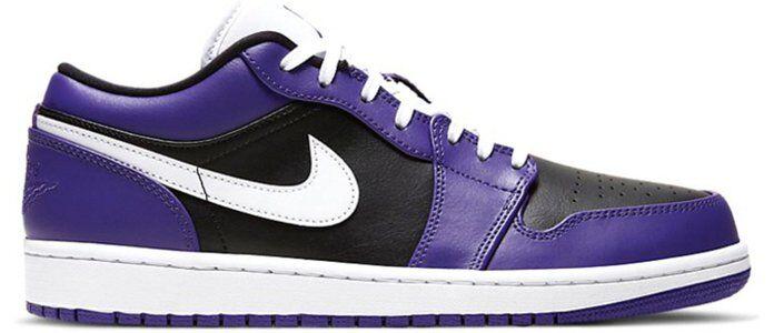Air Jordan 1 Low Court Purple 籃球鞋/運動鞋 (553558-501) 海外預訂