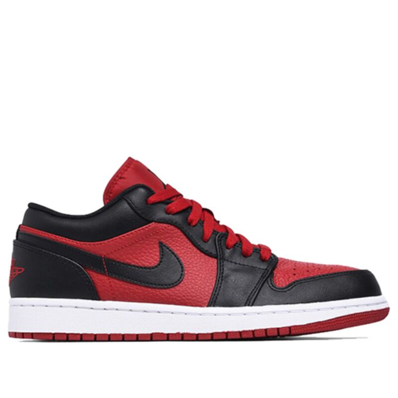 Air Jordan 1 Low Gym Red Black 籃球鞋/運動鞋 (553558-610) 海外預訂
