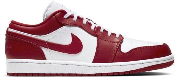 Air Jordan 1 Low 'Gym Red' Gym Red/White 籃球鞋/運動鞋 (553558-611) 海外預訂
