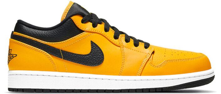 Air Jordan 1 Low 'University Gold Black' University Gold/Black/White 籃球鞋/運動鞋 (553558-700) 海外預訂
