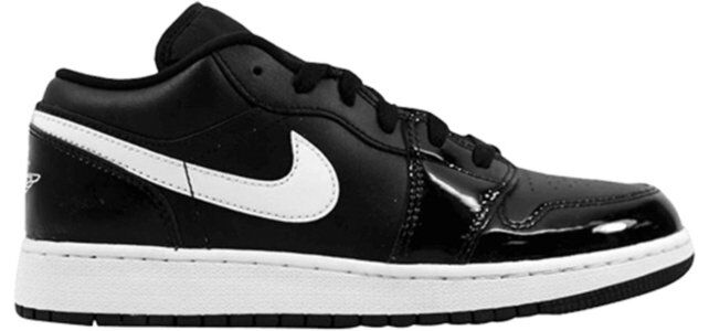 Air Jordan 1 Retro Low'Black' BG Black/White-White 籃球鞋/運動鞋 (553560-002) 海外預訂