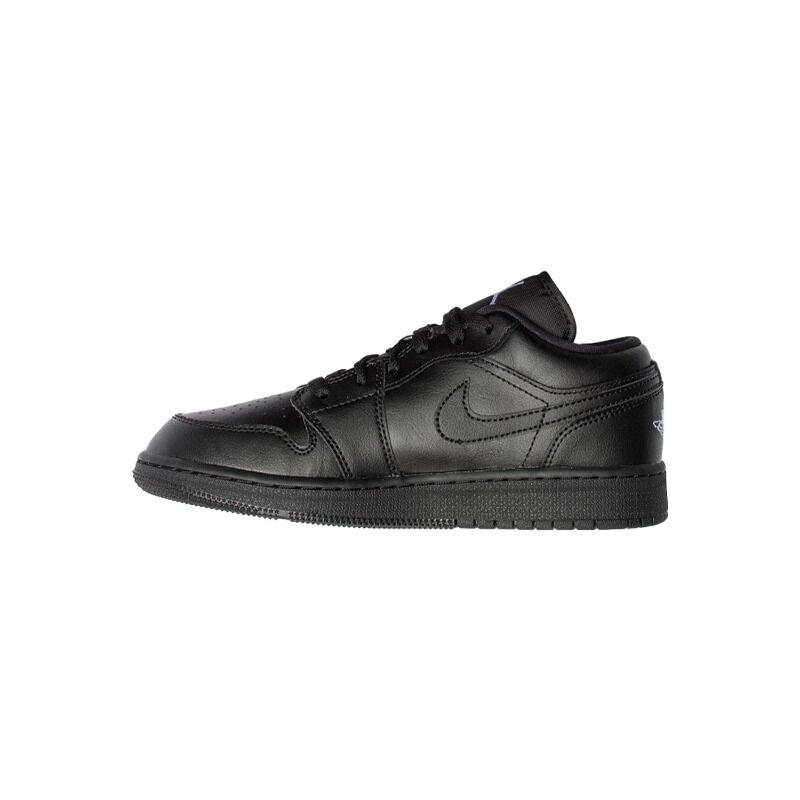 Air Jordan 1 Low GS Black 籃球鞋/運動鞋 (553560-006) 海外預訂