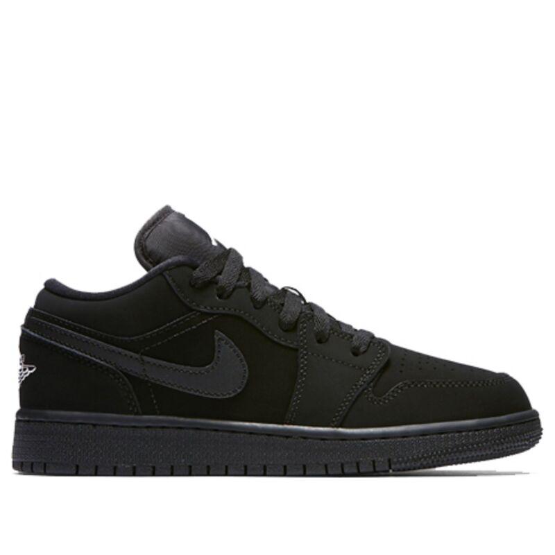 Air Jordan 1 Low GS Black 籃球鞋/運動鞋 (553560-019) 海外預訂