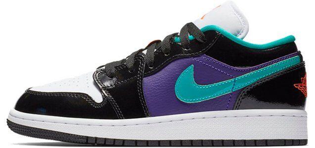 Air Jordan 1 Low GS Black 籃球鞋/運動鞋 (553560-035) 海外預訂