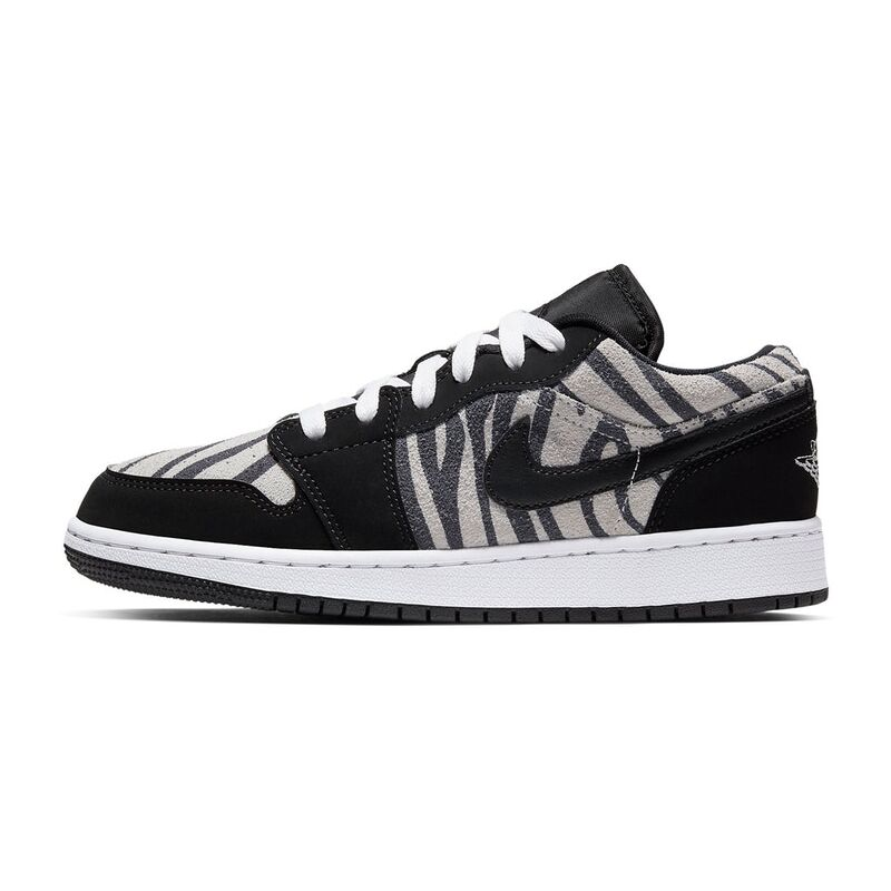 Air Jordan 1 Low GS Zebra 籃球鞋/運動鞋 (553560-057) 海外預訂
