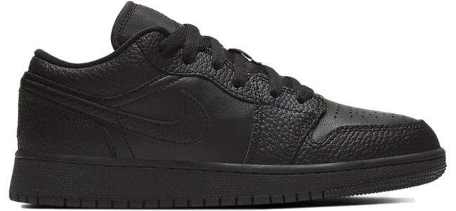 Air Jordan 1 Low (GS) 籃球鞋/運動鞋 (553560-091) 海外預訂