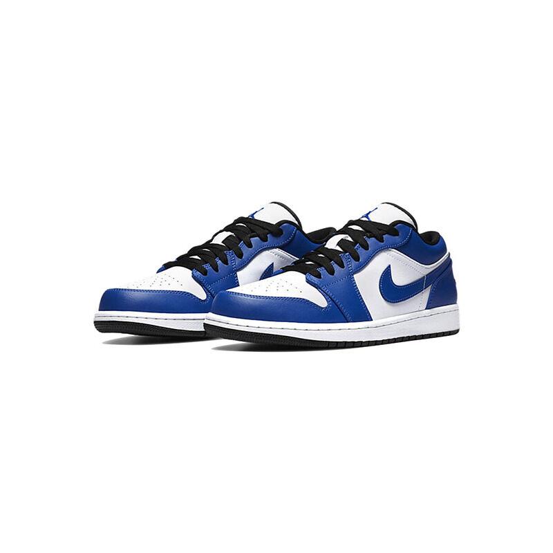 Air Jordan 1 Low GS 'Game Royal' White/Game Royal/Black 籃球鞋/運動鞋 (553560-124) 海外預訂