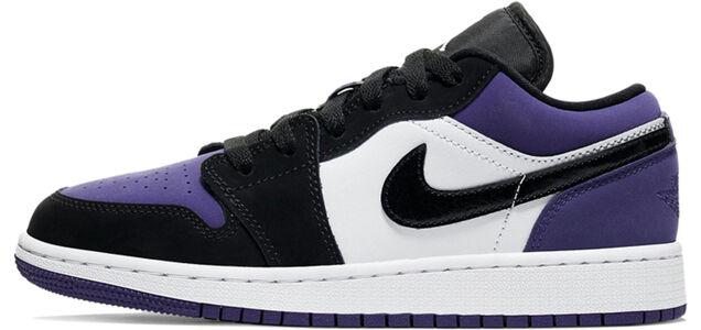 Air Jordan 1 Low GS Court Purple 籃球鞋/運動鞋 (553560-125) 海外預訂