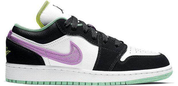 Air Jordan 1 Low (GS) 籃球鞋/運動鞋 (553560-151) 海外預訂