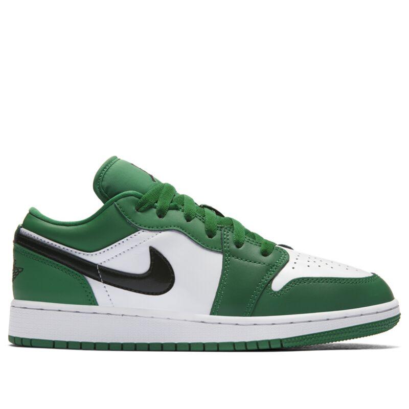 Air Jordan 1 Low'Pine Green' GS Pine Green/Black/White 籃球鞋/運動鞋 (553560-301) 海外預訂