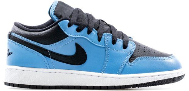 Air Jordan 1 Low GS 'University Blue Black' University Blue/Black/White 籃球鞋/運動鞋 (553560-403) 海外預訂