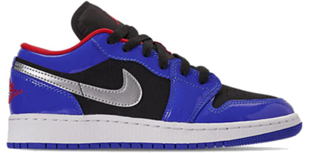 Air Jordan 1 Retro Low 'Top 3' Hyper Royal/Metallic Silver 籃球鞋/運動鞋 (553560-406) 海外預訂
