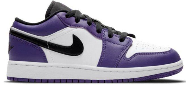 Air Jordan 1 Low GS Court Purple 籃球鞋/運動鞋 (553560-500) 海外預訂
