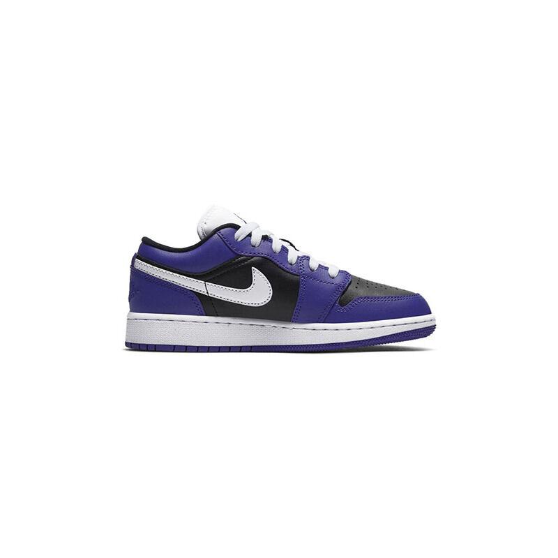 Air Jordan 1 Low'Black Court Purple' GS Court Purple/White/Black 籃球鞋/運動鞋 (553560-501) 海外預訂