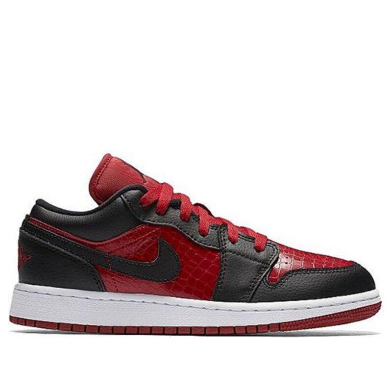 Air Jordan 1 Low GS Bred 籃球鞋/運動鞋 (553560-610) 海外預訂
