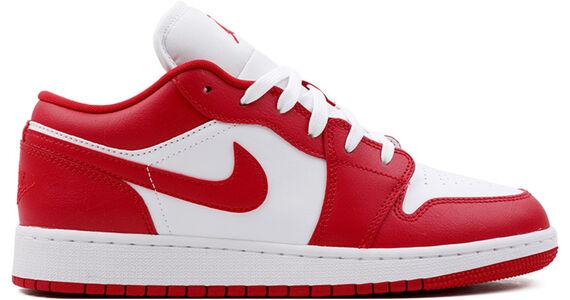 Air Jordan 1 Low GS Gym Red White 籃球鞋/運動鞋 (553560-611) 海外預訂