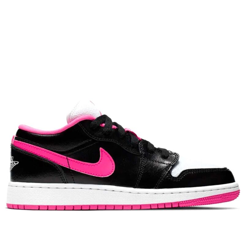 Air Jordan 1 Low GS Black Hyper Pink 籃球鞋/運動鞋 (554723-061) 海外預訂