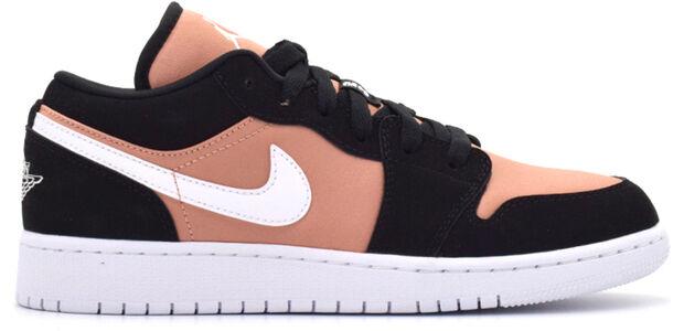 Air Jordan 1 Low GS Black Rose Gold 籃球鞋/運動鞋 (554723-090) 海外預訂