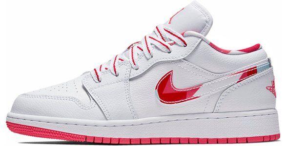 Air Jordan 1 Low GG White Topaz Mist 籃球鞋/運動鞋 (554723-104) 海外預訂