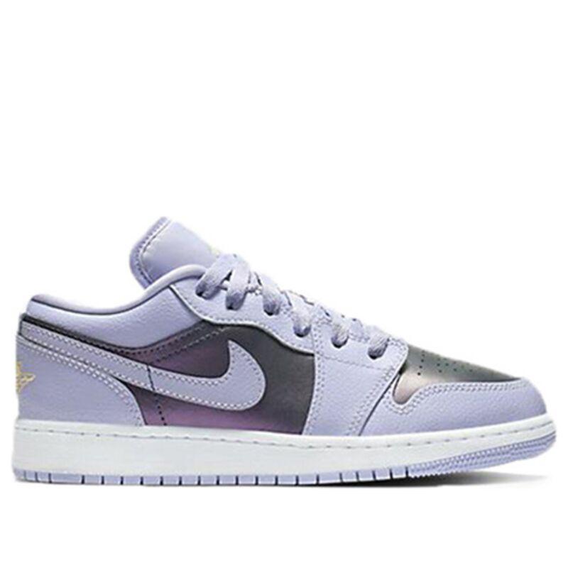 Air Jordan 1 Low'Oxygen Purple' GS Oxygen Purple/Oxygen Purple 籃球鞋/運動鞋 (554723-505) 海外預訂