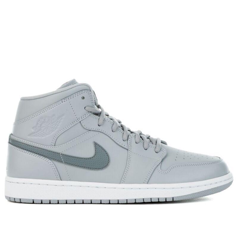 Air Jordan 1 Mid Wolf Grey 籃球鞋/運動鞋 (554724-033) 海外預訂