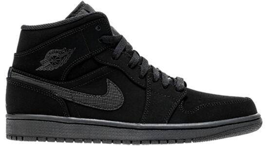 Air Jordan 1 MID Black/White-Black 籃球鞋/運動鞋 (554724-040) 海外預訂