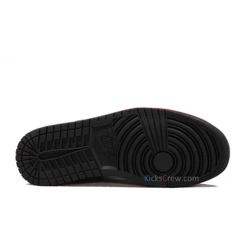 Air Jordan 1 Mid Black Infrared 籃球鞋/運動鞋 (554724-043) 海外預訂
