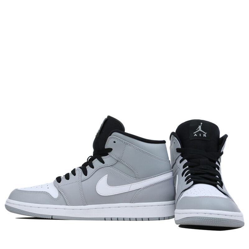 Air Jordan 1 Mid Wolf Grey 籃球鞋/運動鞋 (554724-046) 海外預訂
