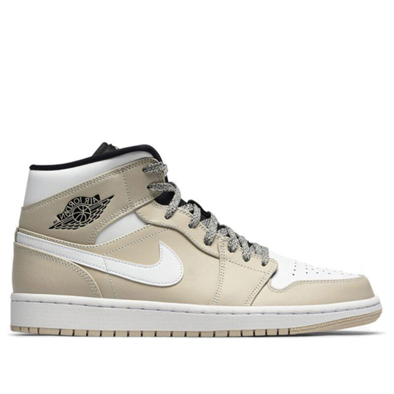 Air Jordan 1 Mid Desert Sand 籃球鞋/運動鞋 (554724-047) 海外預訂