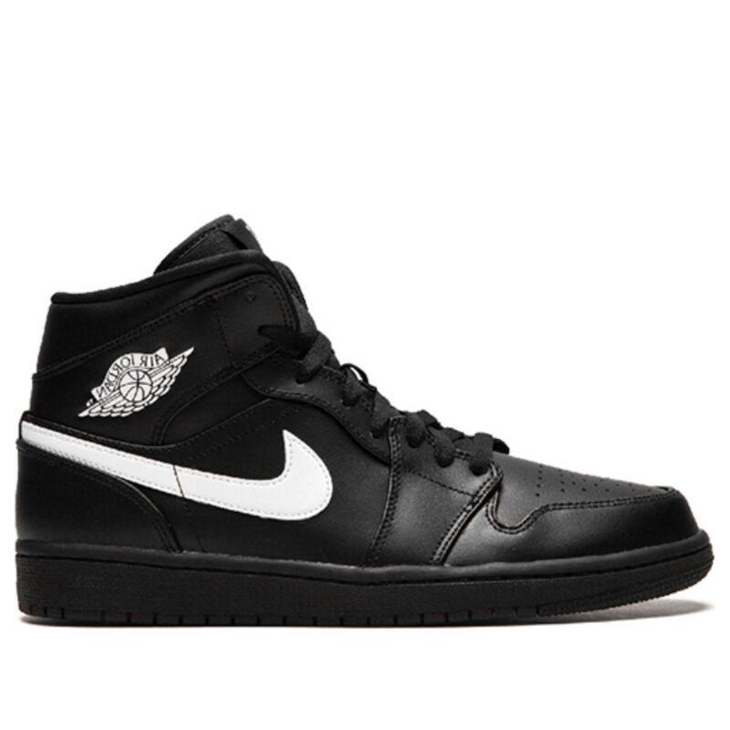 Air Jordan 1 Mid Black 籃球鞋/運動鞋 (554724-049) 海外預訂